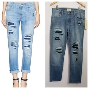CURRENT/ELLIOT the fling omaha patch repair jeans